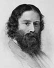 Portrait of James Russell Lowell, circa 1855
