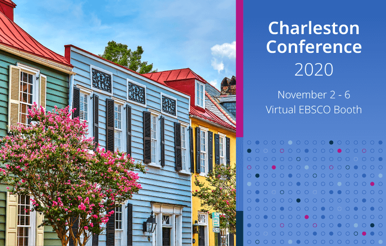charleston colorful buildings promoting the 2020 conference