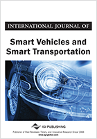 International Journal of Smart Vehicles and Smart Transportation. Image showing a car with an overlay of lines showing the inner workings of the car.
