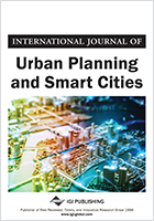 International Journal of Urban Planning and Smart Cities Cover with image of a city
