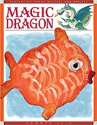 Magic Dragon Cover with an Orange Fish