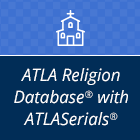 ATLA Religion Database with ATLASerials