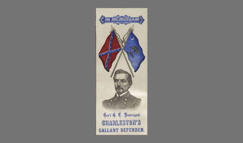 Memorial Cloth of General G.T. Beauregard