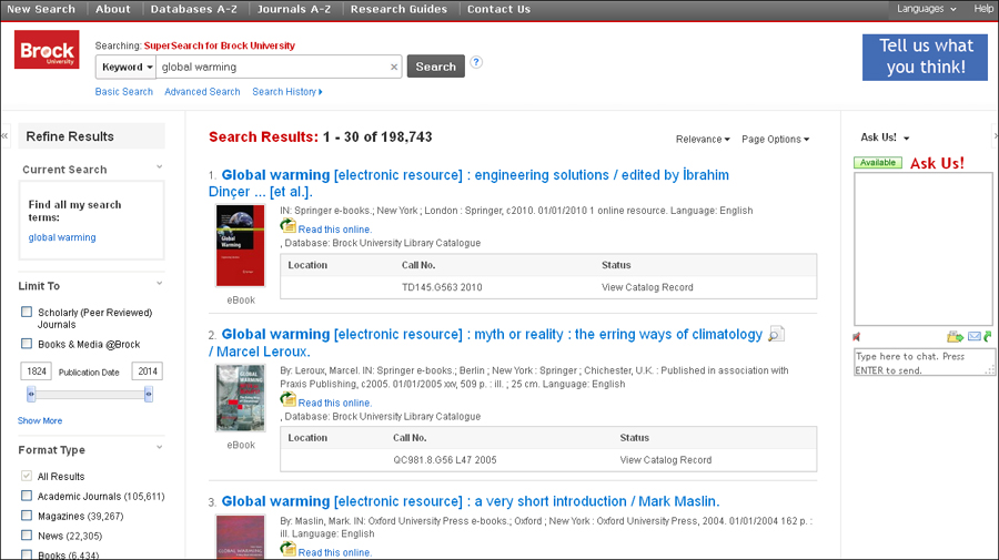 University library in Canada enriches discovery with an