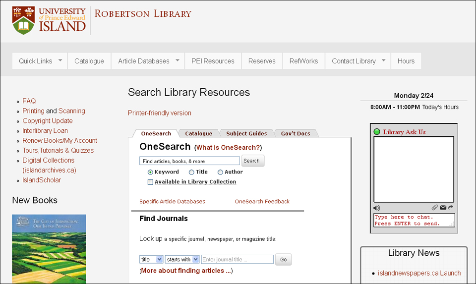 Simplifying the research process with EBSCO Discovery Service | EBSCO